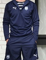 1/4 zip training top and Shorts